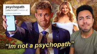 The Worst Dating Show Contestant On TV (The Bachelorette)