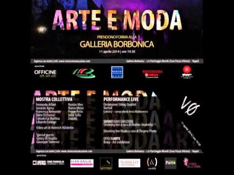 Radio Crc: Valeria Viscione parla di Arte e Moda prendono forma alla Galleria Borbonica