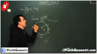 Akrep ve Yelkovan Arasındaki Açı - Önder Hoca ile Pratik Geometri