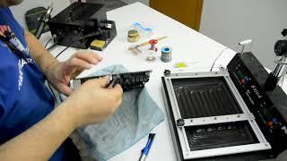 Reparación placa base de SUSCRIPTOR - Cambio Condensador