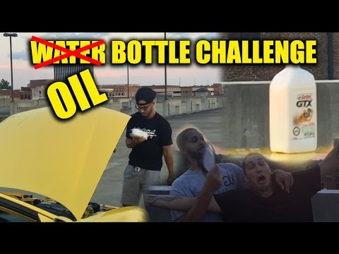 Haters Will Say It's Fake!! Water Bottle Challenge Parody