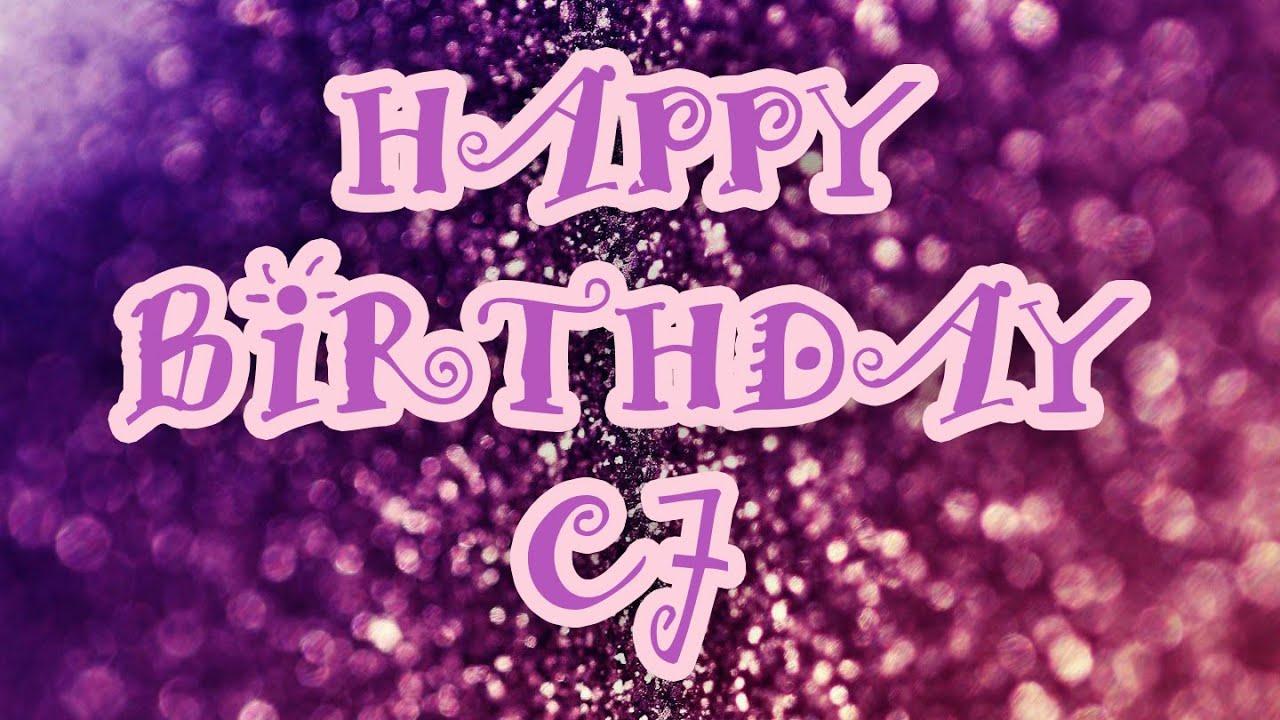 Happy birthday cj daugherty night school france youtube