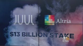 Tobacco Giant Altria Buys $12.8 Billion Stake in S.F-Based Juul