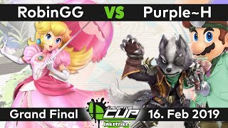Calyptus Cup Inkstrike | RobinGG (Peach) vs TCL Purple~H (Wolf, Dr. Mario) | Grand Final