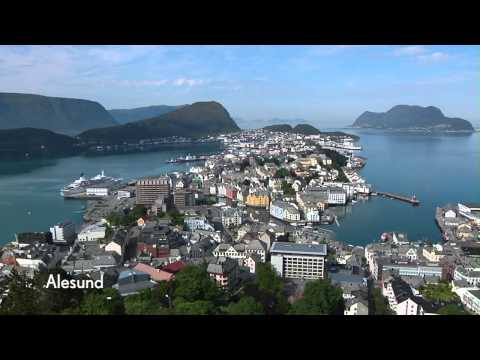 Cunard's Norwegian Ports of Call - Alesund