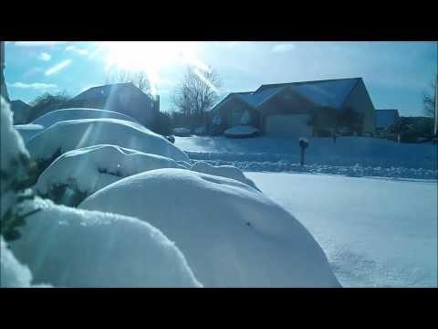 Pennsylvania Snow Storm Time Lapse