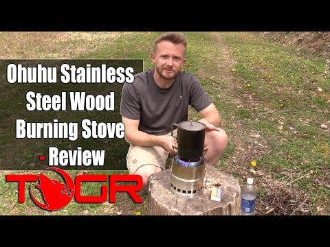 Ohuhu Stainless Steel Wood Burning Stove - Review