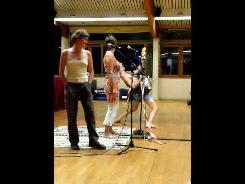 BELLA CIAO Fête de l'Homme Debout 2010 Valérie Céline & Sergio Blondasses
