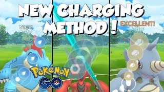 NEW CHARGING METHOD! NO MORE THREE RINGS! POKEMON GO HUGE PVP UPDATE!