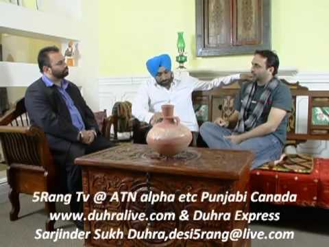 Babbu Mann And Bhagwant Mann Interview - Part2.flv video