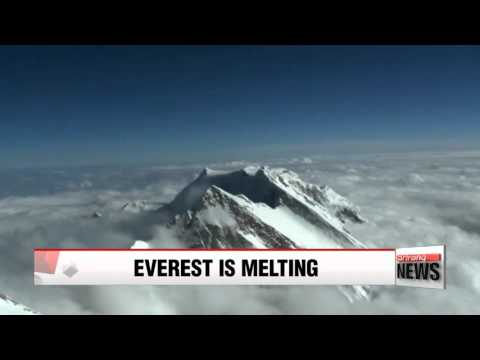 Climate change shrinks Mount Everest glaciers by 28 percent