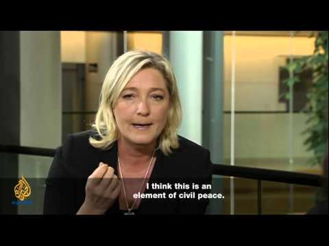 Talk to Al Jazeera - Marine Le Pen: The threat of radical Islam