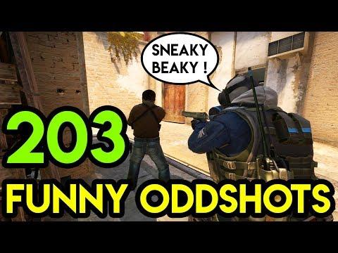 CS:GO - BEST ODDSHOTS #203 (+ GIVEAWAY)