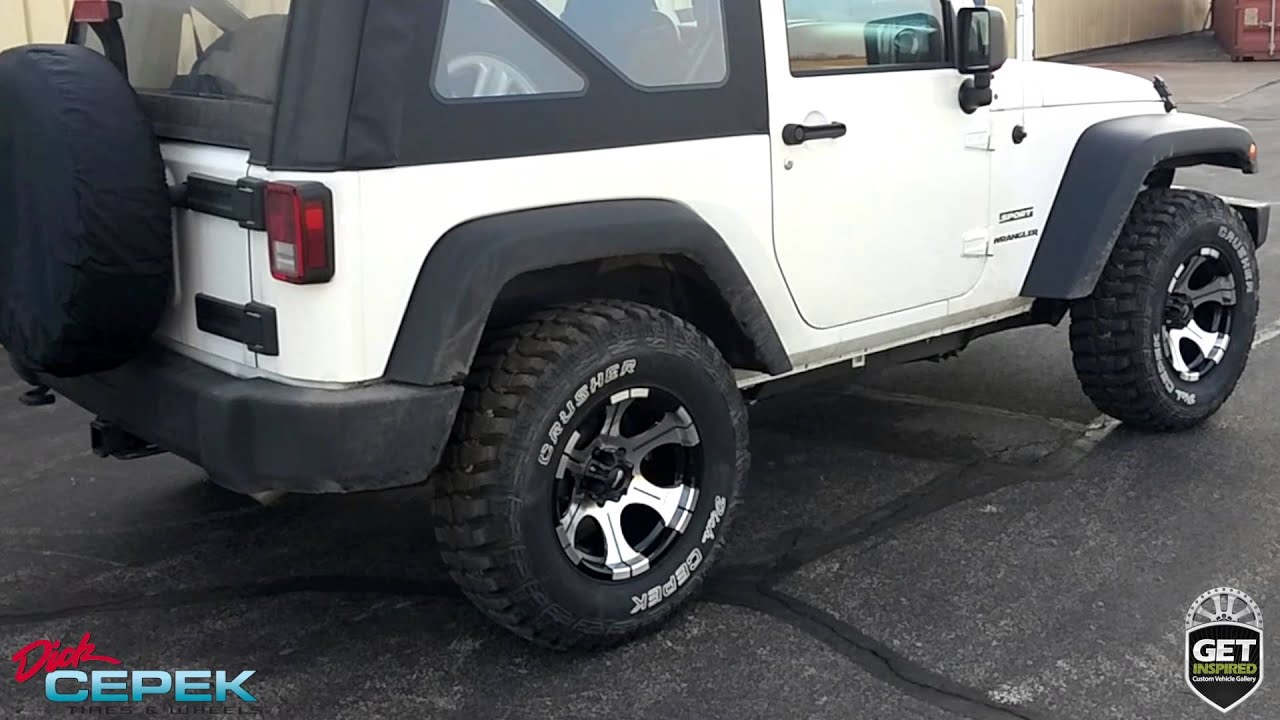 Jeep Tj Parts >> Jeep Wrangler Wheel and Tire Parts 4 Wheel Drive Hardware ...
