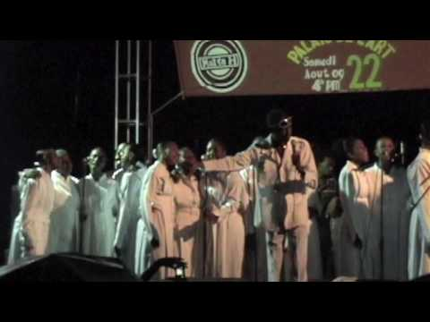Hallelujah Choir directed by Maestro Jean Marie Papin, performing at the 4th Annual Haitian Awards at Palais de L'Art. This choir is from L'Eglise sur le Roc...