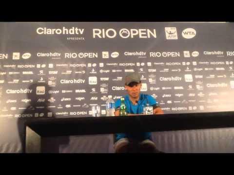 Coletiva de Imprensa - Rafael Nadal (Rio Open)