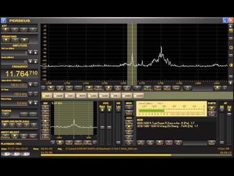 Super Radio Deus e Amor (Brazil) 11764.71kHz 3/27/15 02:00~UTC - Station Announcement