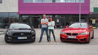 BMW M4 Coupé vs. Ford Mustang Fastback - GRIP - Folge 319 - RTL 2