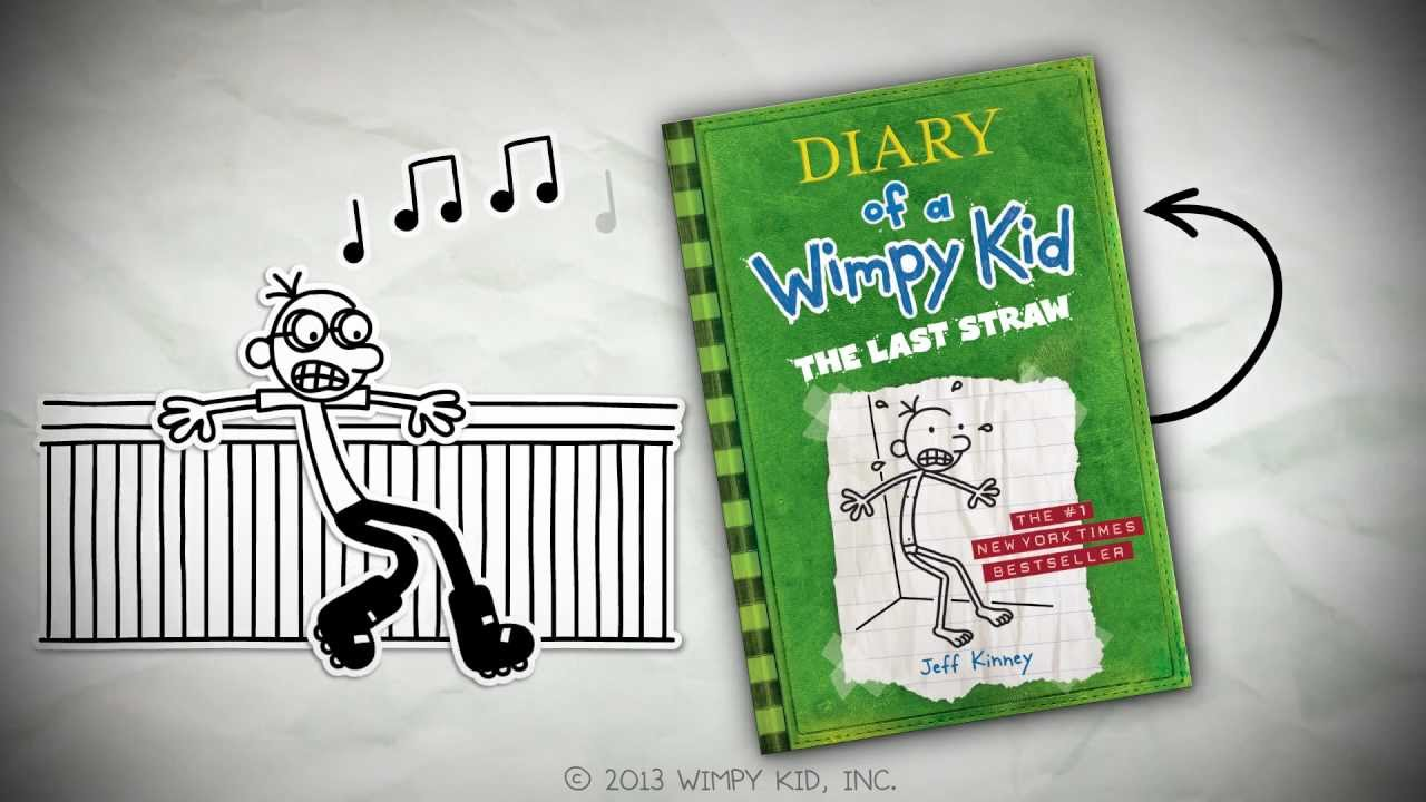 Diary Of A Wimpy Kid The Last Straw By Jeff Kinney Youtube