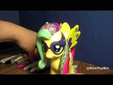 Fluttershy Design-a-Pony 2013 My Little Pony FiM Vinyl Figure Review! by Bin's Toy Bin