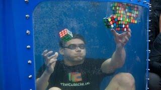 Guinness World Record! 8 Rubik