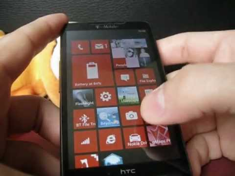 wp7 htc hd2 triple boot(Native SD)
