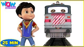 Nursery Rhymes for Babies | Songs for Children | Engine Engine | Vehicle Song