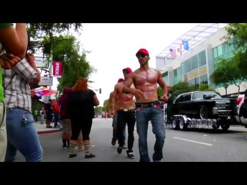 Hunk Workout Gay Pride Parade