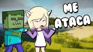 EL ZOMBIE ME QUIERE COMER | Minecraft Roleplay 4