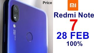 Redmi Note 7 Price In India, Launch Date, Specifications, Features, Review, Camera