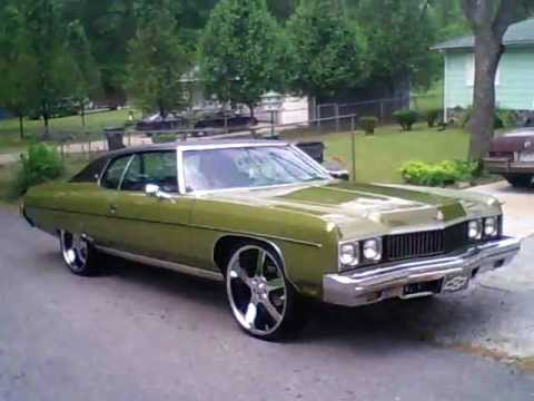 1973 Chevy Impala Convertible For Sale