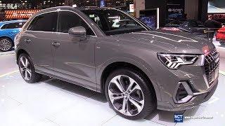 2020 Audi Q3 45 TFSI Quattro - Exterior and Interior Walkaround - 2019 New York Auto Show