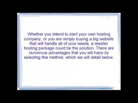 advantages and disadvanategs of reseller hosting