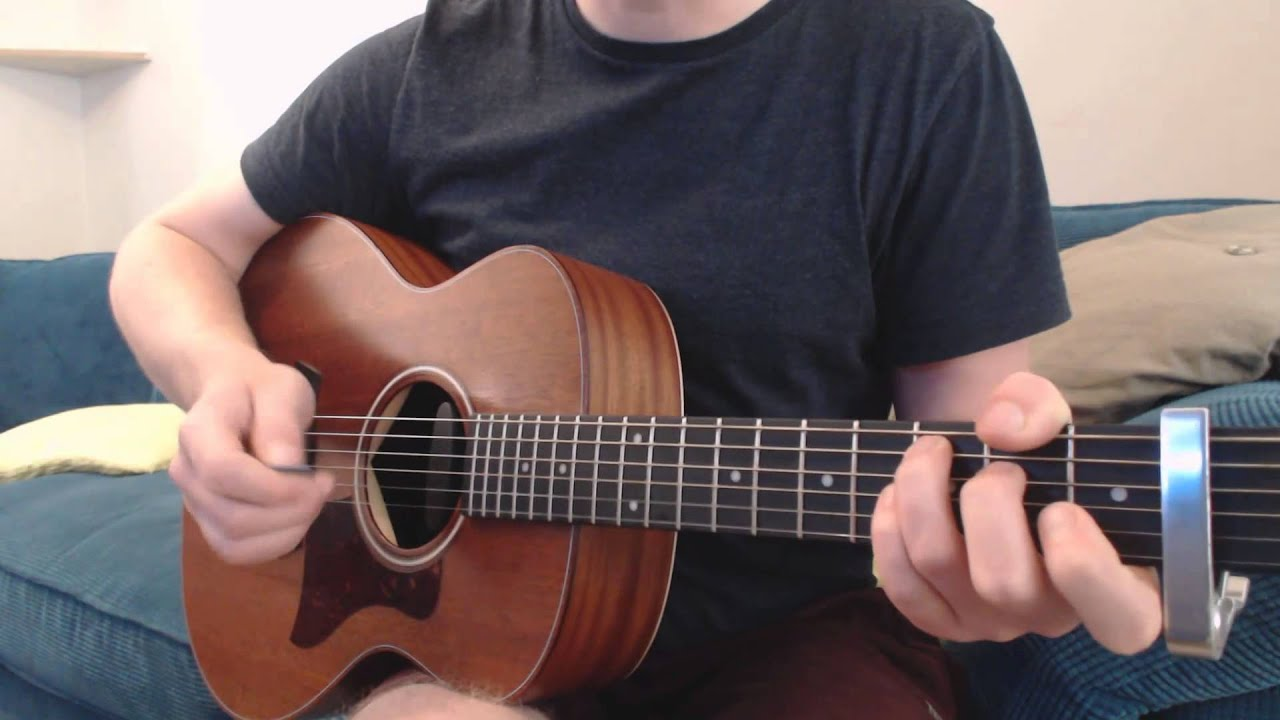 How to play XO - John Mayer on Guitar (Beyonce Cover)(Lesson) - YouTube