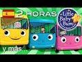 Las ruedas del autobús | 2ª Recopilación | Más de 2 horas de canciones infantiles | LittleBabyBum! MP3