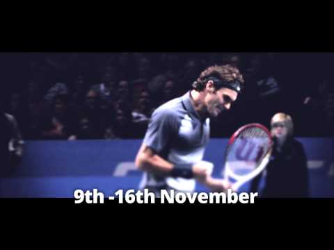 Novak Djokovic & Roger Federer ready ATP World Tour Finals in London - are you?