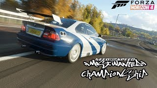 Forza Horizon 4 - The Need For Speed Most Wanted Championship