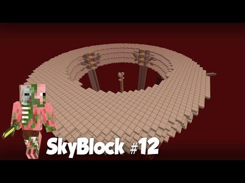 SkyBlock #12: БЕЗУМНАЯ ФЕРМА ЗОЛОТА на Скай Блоке!