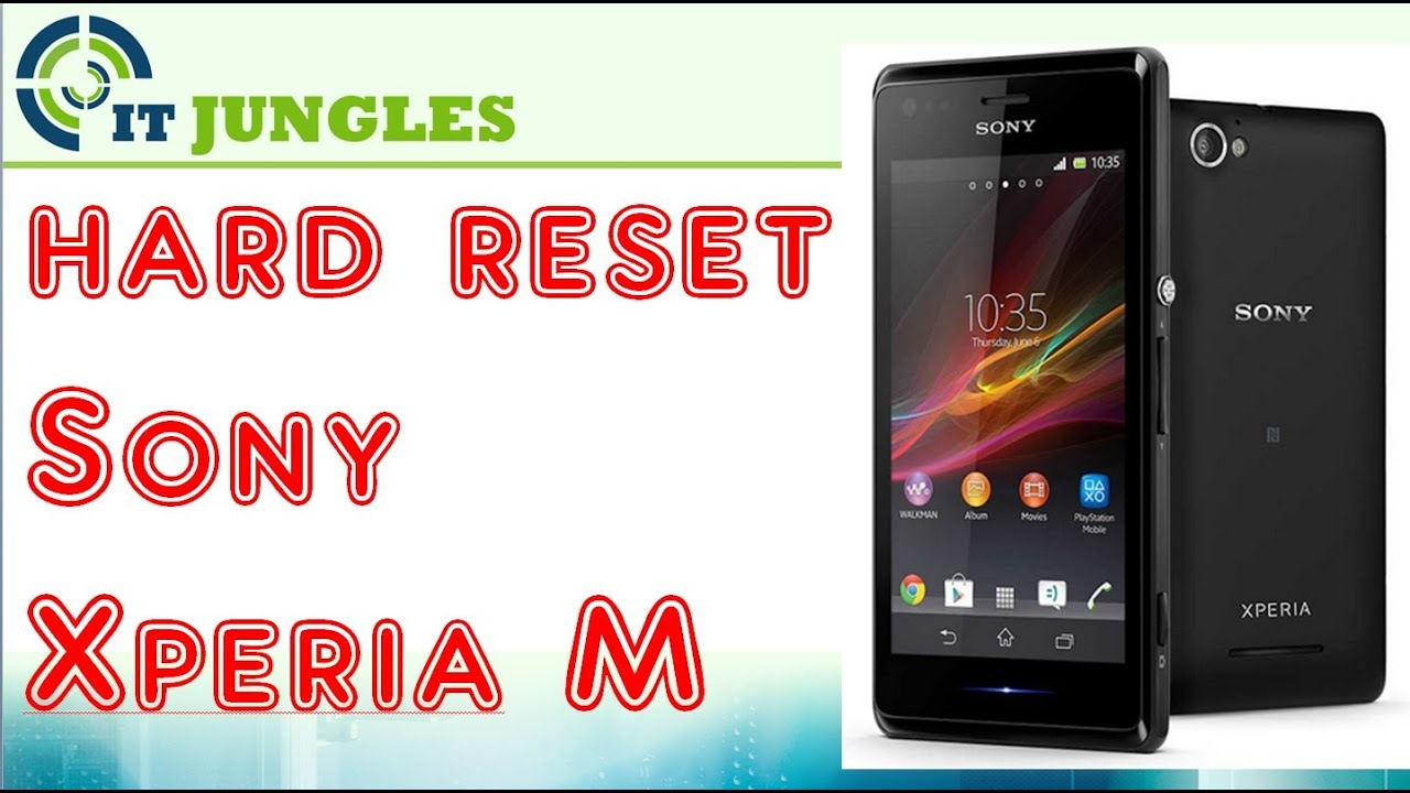 How to Easily Format SONY XPERIA TIPO ST21i & ST21i2 with Safe