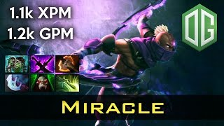 Miracle Anti Mage 1100+ XPM/GPM Dota 2