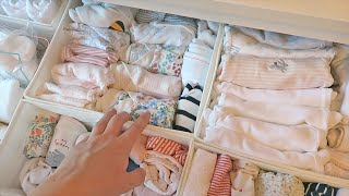 SORTING BABY CLOTHES | Rhiannon Ashlee Vlogs
