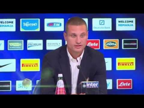 Inter Mailand stellt Nemanja Vidic vor | Transfer von Manchester United | Serie A