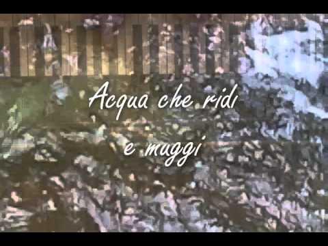 Acqua – Poesia di Gabriele d'Annunzio.WMV