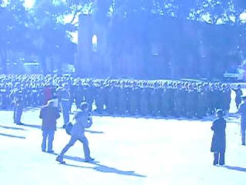 Juramento a la Bandera, Policia Militar 2009 Esc. de Suboficiales.