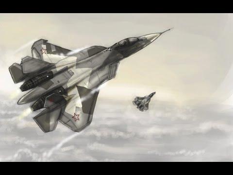 нереальный авиационный комплекс, Самолет Т-50, истребитель пятого поколения ПАК ФА