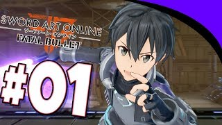Sword Art Online Fatal Bullet Episode 1 First GGO Tournament!