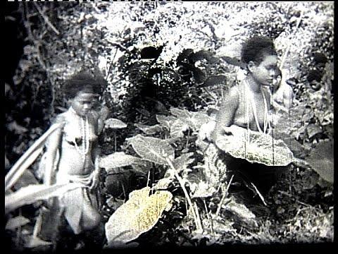 Orang asli in the Malayan jungle 1947 (2)