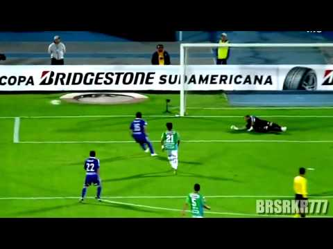Eduardo Vargas HD Goles en U de Chile Sudamericana 2011