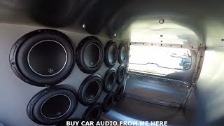 JL Audio CP212 W0v3 and JL JX500 1D Review and Bass Demo