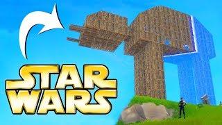 BUILDING A STAR WARS AT-AT | Fortnite Battle Royale